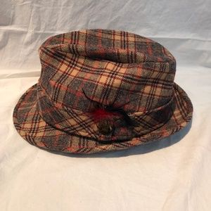 Vintage Pendleton Wool Hat, Plaid